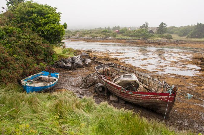 dreise boats beara peninsula Ireland